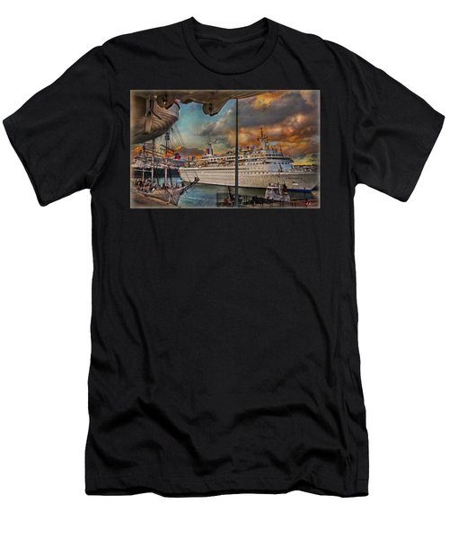 Cruise Port Men's T-Shirt (Athletic Fit)