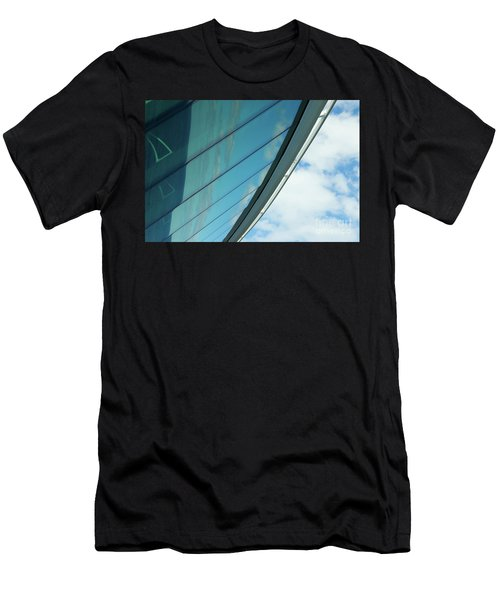 Cruise Ship Abstract Serenade Windows 1 Men's T-Shirt (Athletic Fit)