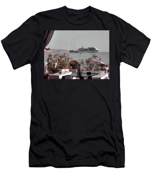 Cruising Past And Present Men's T-Shirt (Athletic Fit)