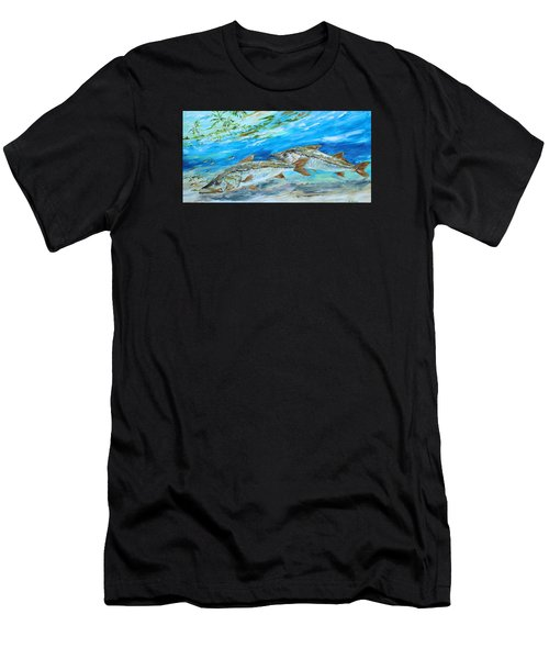 Cruising Snook Men's T-Shirt (Athletic Fit)