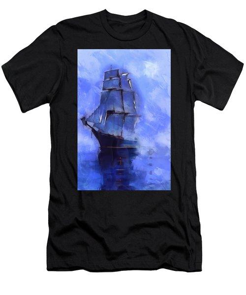 Cruising The Open Seas Men's T-Shirt (Athletic Fit)
