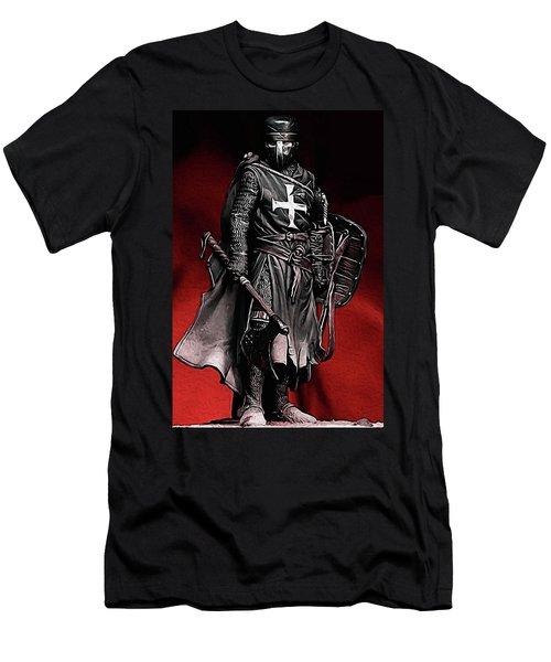 Crusader Warrior - Medieval Warfare Men's T-Shirt (Athletic Fit)