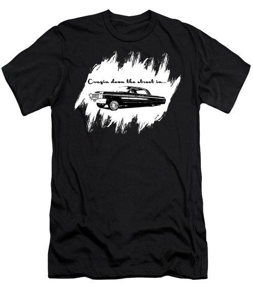 Cruzin Down The Street Men's T-Shirt (Athletic Fit)