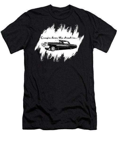 Cruzin Down The Street Men's T-Shirt (Athletic Fit)