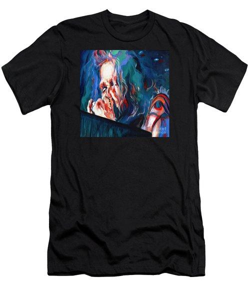 Love Is Sweet Misery. Steven Tyler  Men's T-Shirt (Athletic Fit)