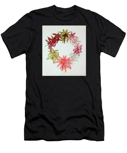 Cryptanthus Wreath Men's T-Shirt (Athletic Fit)