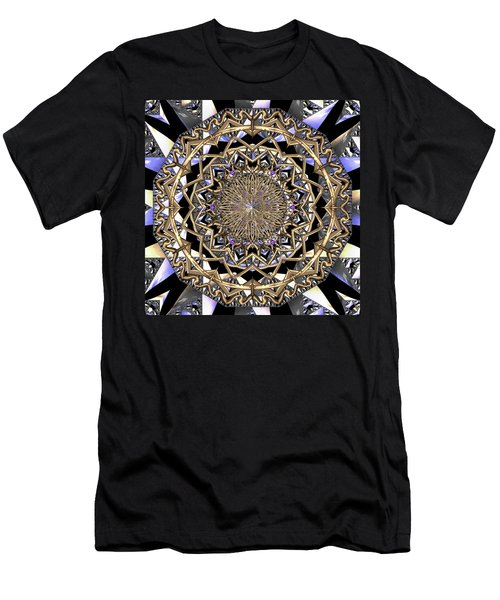 Men's T-Shirt (Athletic Fit) featuring the digital art Crystal Ahau  by Robert Thalmeier