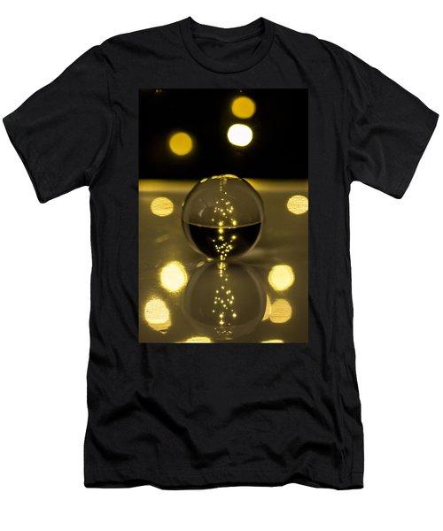 Crystal Ball Men's T-Shirt (Slim Fit) by Hyuntae Kim