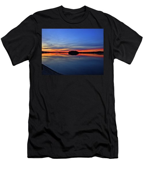 Crystal Blue Persuasion  Men's T-Shirt (Athletic Fit)