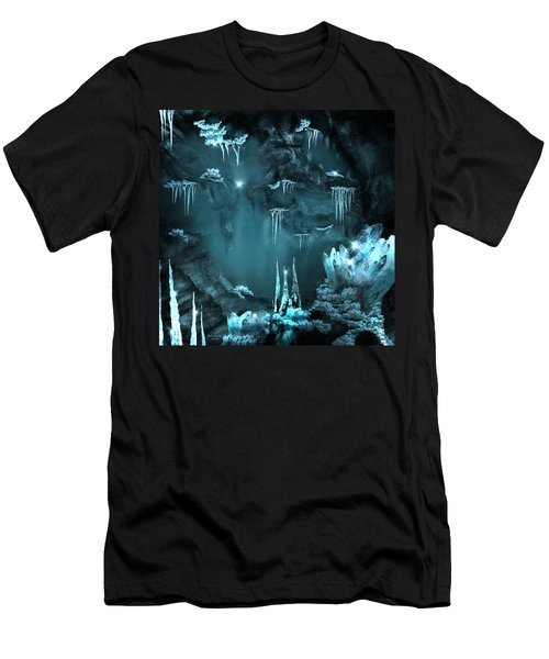 Crystal Cave Mystery Men's T-Shirt (Athletic Fit)