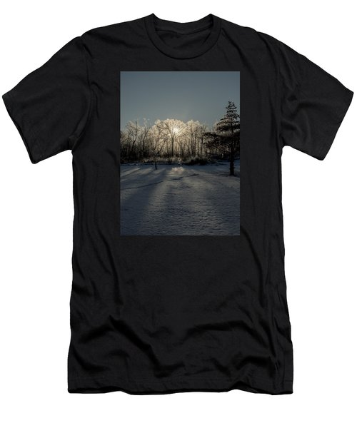 Crystal Glow Men's T-Shirt (Athletic Fit)