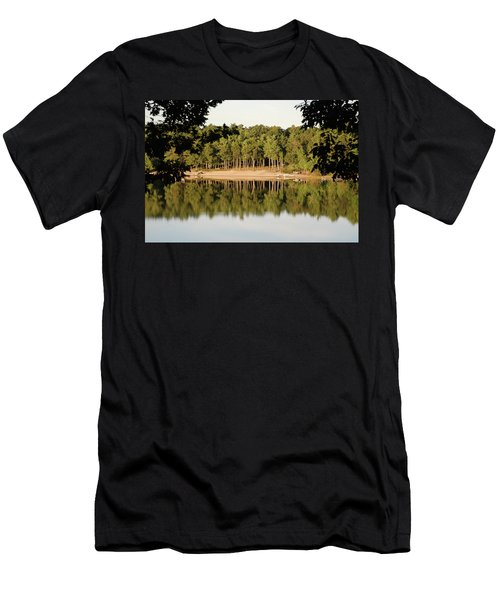 Crystal Lake In Whitehall Mi Men's T-Shirt (Slim Fit) by Ferrel Cordle