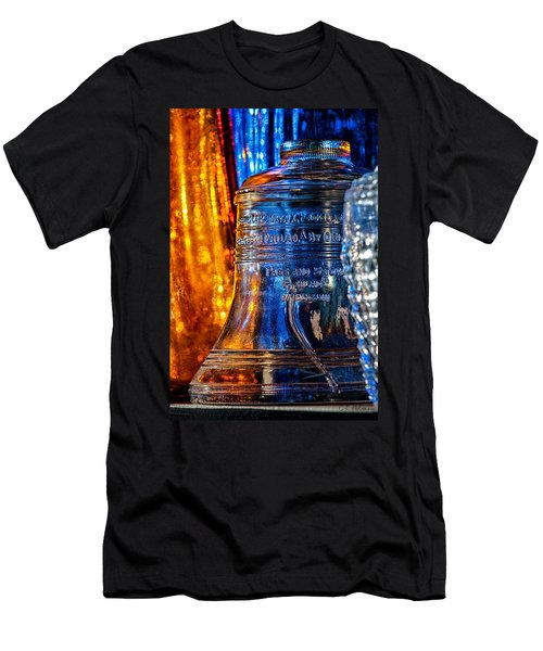 Crystal Liberty Bell Men's T-Shirt (Athletic Fit)