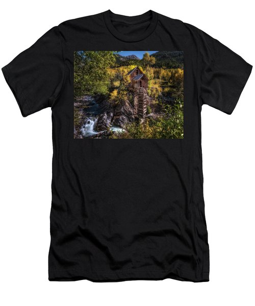 Crystal Mill Colorado Men's T-Shirt (Athletic Fit)