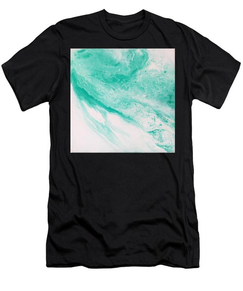 Crystal Wave 1 Men's T-Shirt (Athletic Fit)