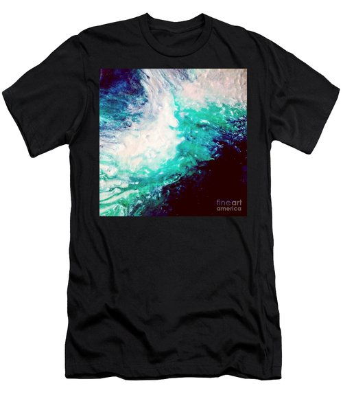 Crystal Wave16 Men's T-Shirt (Athletic Fit)