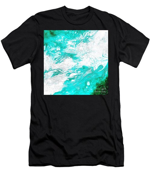 Crystal Wave4 Men's T-Shirt (Athletic Fit)