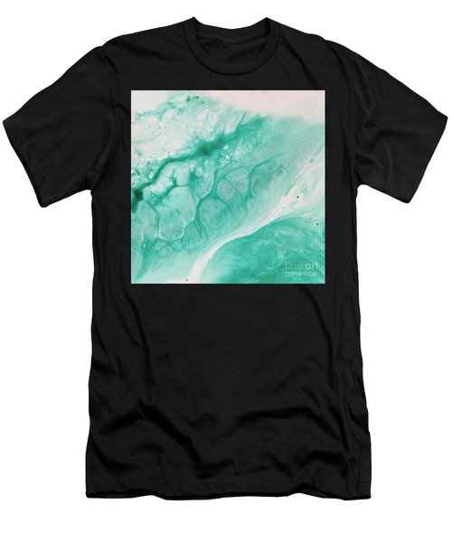 Crystal Wave6 Men's T-Shirt (Athletic Fit)