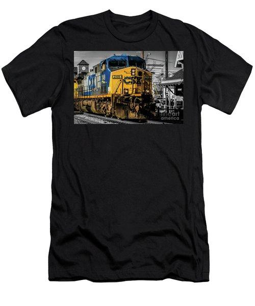 Csx Engine Gaithersburg Md Men's T-Shirt (Athletic Fit)