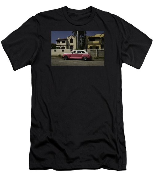 Cuba Car 9 Men's T-Shirt (Slim Fit) by Will Burlingham