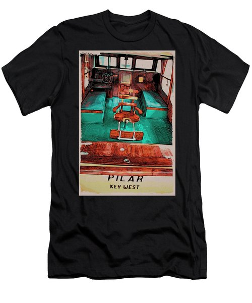 Cuba Hemingway Pilar Men's T-Shirt (Athletic Fit)