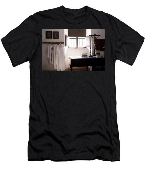 Cuban Church Men's T-Shirt (Athletic Fit)