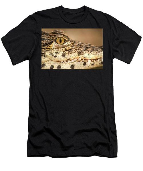 Cuban Croc Smile Men's T-Shirt (Athletic Fit)