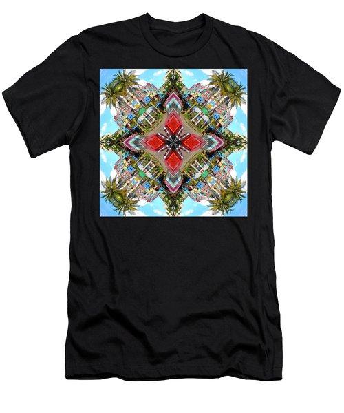 Cuban Kaleidoscope Men's T-Shirt (Athletic Fit)