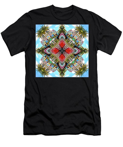 Cuban Kaleidoscope Men's T-Shirt (Athletic Fit)