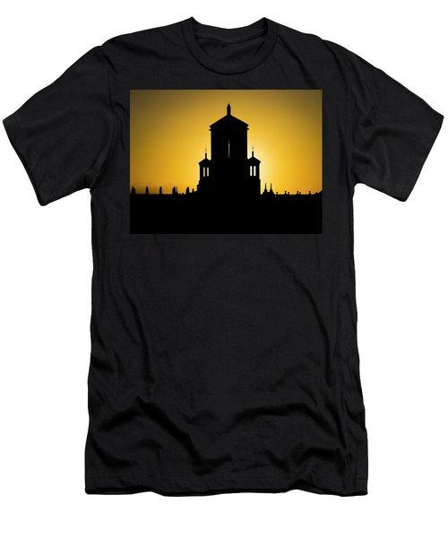 Cuban Landmark. Men's T-Shirt (Athletic Fit)