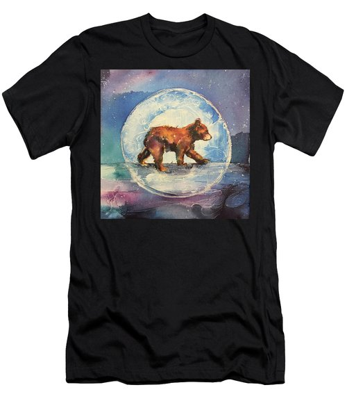 Cubbie Bear Men's T-Shirt (Athletic Fit)