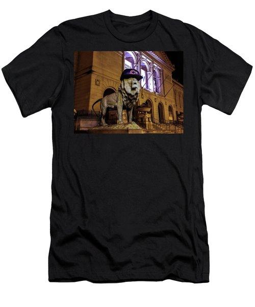 Cubs Lion Hearts Men's T-Shirt (Athletic Fit)