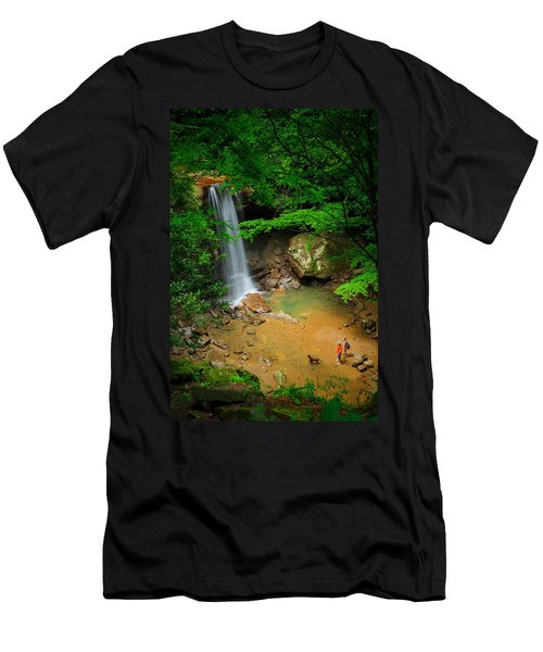 Cucumber Falls Men's T-Shirt (Athletic Fit)
