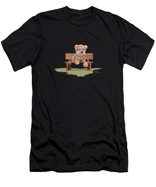 Cuddly At The Park Men's T-Shirt (Athletic Fit)