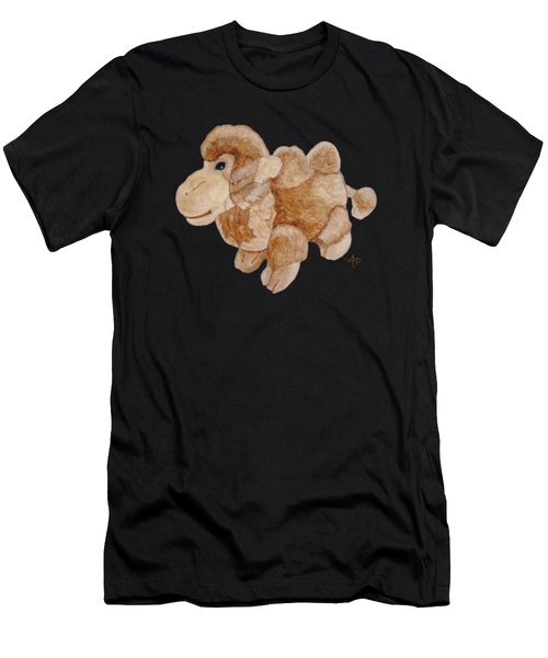 Cuddly Camel Men's T-Shirt (Athletic Fit)