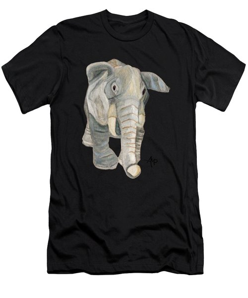 Cuddly Elephant Men's T-Shirt (Athletic Fit)