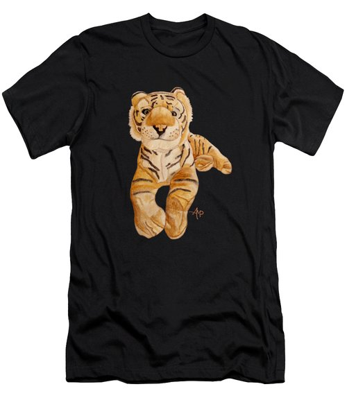 Cuddly Tiger Men's T-Shirt (Athletic Fit)