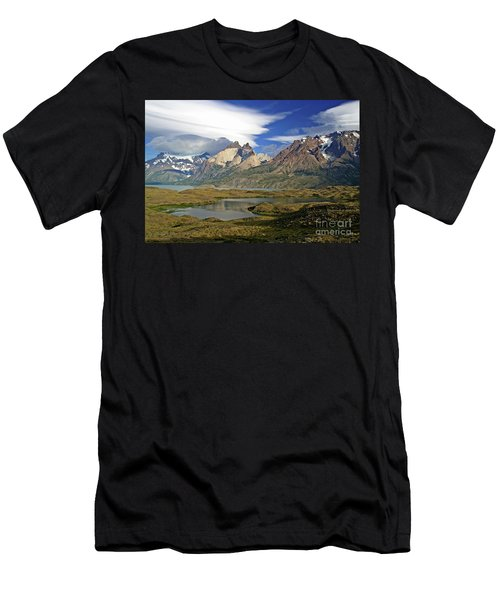 Cuernos Del Pain And Almirante Nieto In Patagonia Men's T-Shirt (Athletic Fit)
