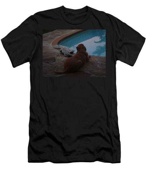 Cujo And The Alligator Men's T-Shirt (Athletic Fit)
