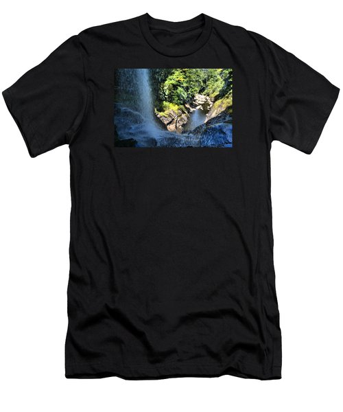 Cullasaja Falls Lookout Men's T-Shirt (Athletic Fit)