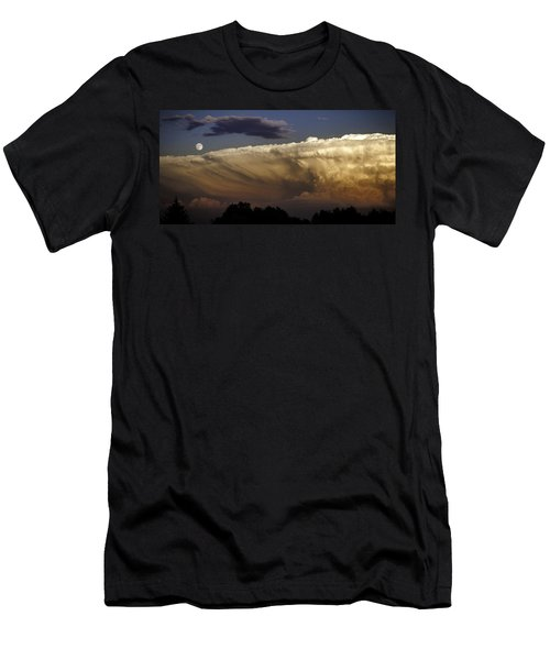 Cumulonimbus At Sunset Men's T-Shirt (Athletic Fit)