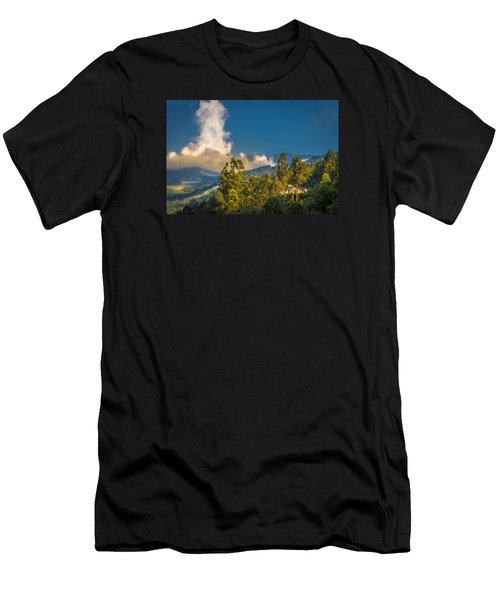Giant Over The Mountains Men's T-Shirt (Athletic Fit)