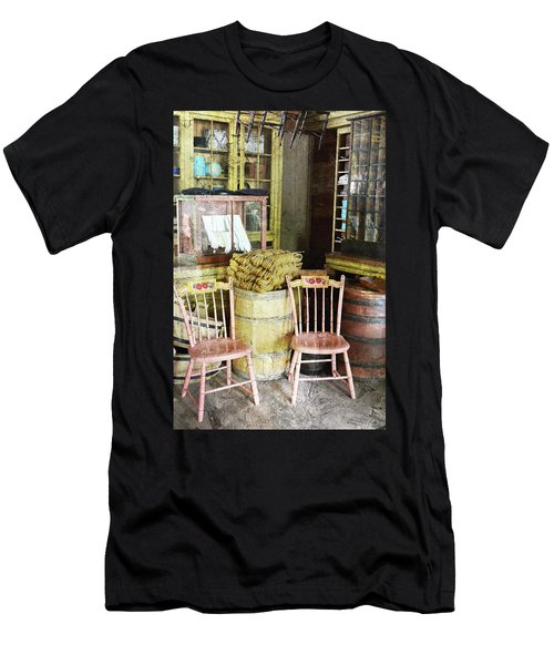 Cupboards Full Of Poetry Men's T-Shirt (Athletic Fit)