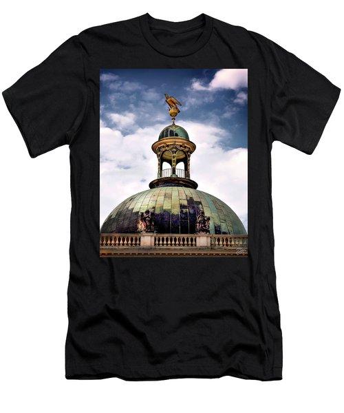 Cupola At Sans Souci Men's T-Shirt (Athletic Fit)