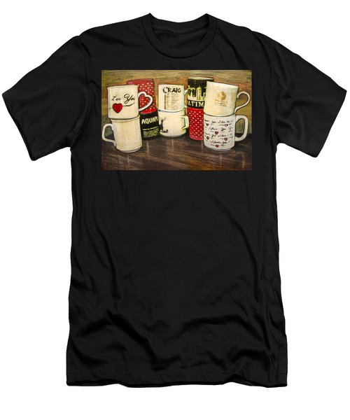 Cups Of Memory Men's T-Shirt (Athletic Fit)