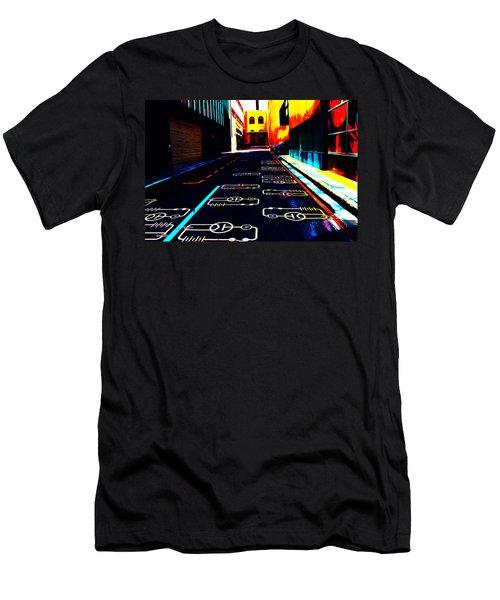 Curcuit City Men's T-Shirt (Athletic Fit)
