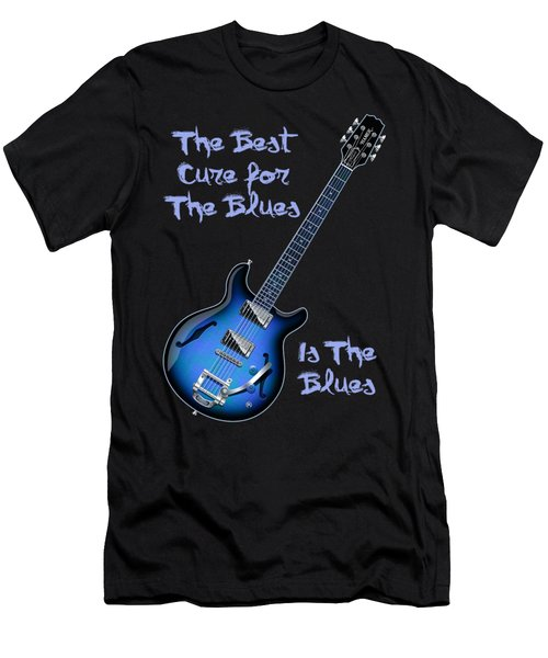 Cure For The Blues Shirt Men's T-Shirt (Athletic Fit)