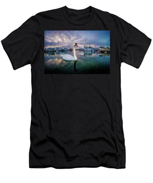 Curious Men's T-Shirt (Athletic Fit)