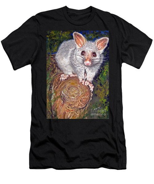 Curious Possum  Men's T-Shirt (Athletic Fit)