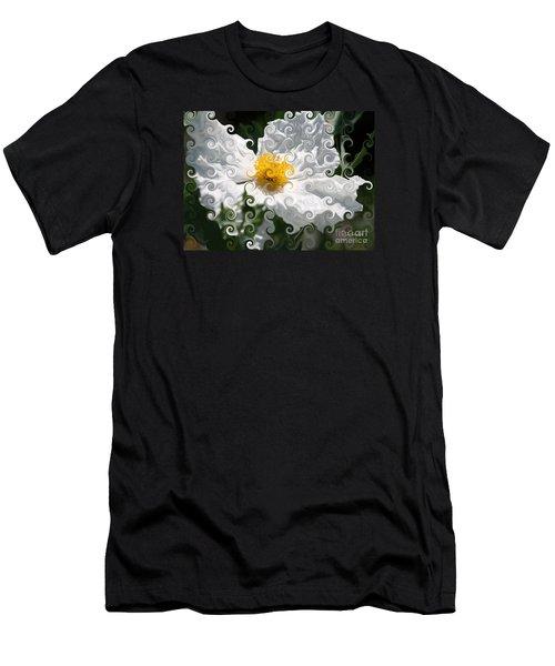 Curlicue Fantasy Bloom Men's T-Shirt (Athletic Fit)